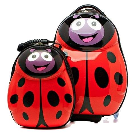 Детский чемодан на колесиках, чемодан Эгги Веселая Пчелка из ZB410