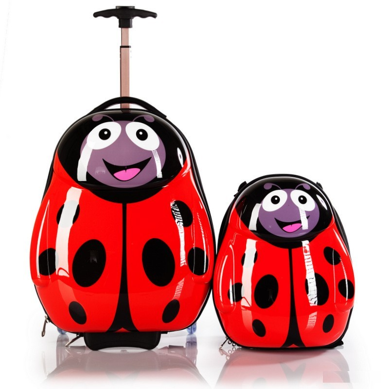 Детский чемодан на колесиках в комплекте с рюкзаком eggie Эгги HA110