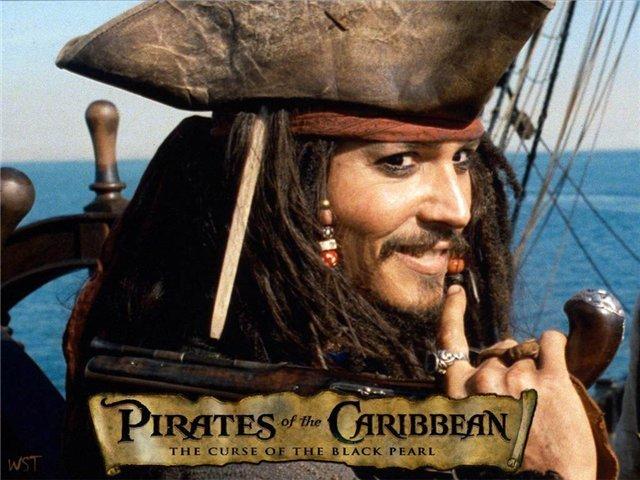 Прототип костюма  - персонаж фильмов о Пирате Джеке Воробье.  Детский карнавальный костюм Пирата, костюм капитана пиратов, костюм Джека Воробья, артикул Е92148, фирма SNOWMEN, на возраст  4-6, 7-10, 11-14 лет