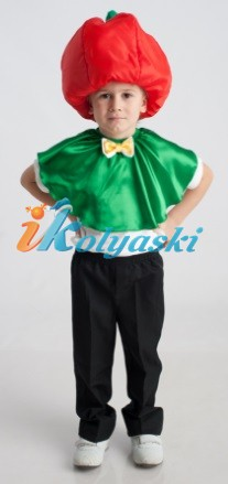 Как сделать костюм болгарского перца