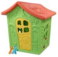 Детский игровой домик Forest House Лесная хижина, артикул OT-12 ,  размер 130х140х120 см, похож на домик гномика. 2 окна, дверь, крыша