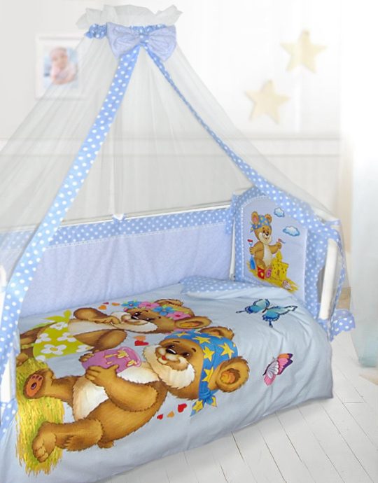 Подушки бортики в кроватку для новорожденных своими