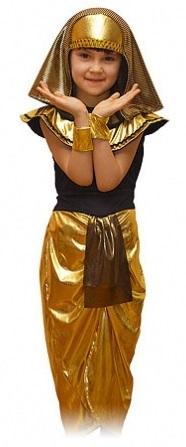 Детский карнавальный костюм Клеопатры, костюм египетской красавицы,  костюм египтянки, костюм египетской царицы, размер М, на 7-11 лет, рост 128-134 см, серии Карнавалия фирмы Остров игрушки