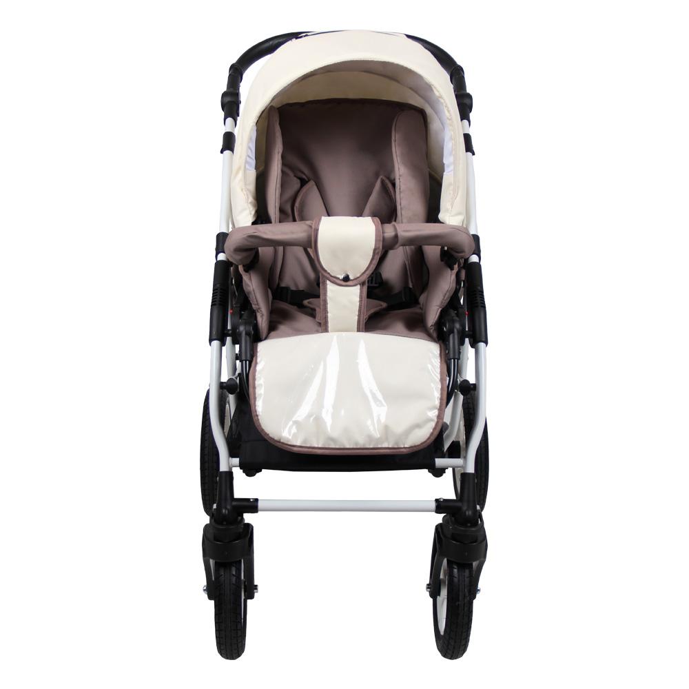 Детская коляска для новорожденных 3 в 1 на поворотных колесах, модульная коляска с автокреслом-переноской Alis Berta, Алис Берта