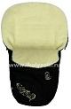 Зимний конверт для новорожденных Ecobaby - Экобейби, модель Baby Breeze Winter, конверт в коляску, КОНВЕРТ НА ВЫПИСКУ из роддома,  конверт детский, увеличенного размера 94х50 см, БЕЗ ПРОРЕЗЕЙ, цвет ЧЕРНЫЙ