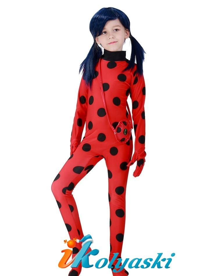 костюм леди баг для девочек 6 лет