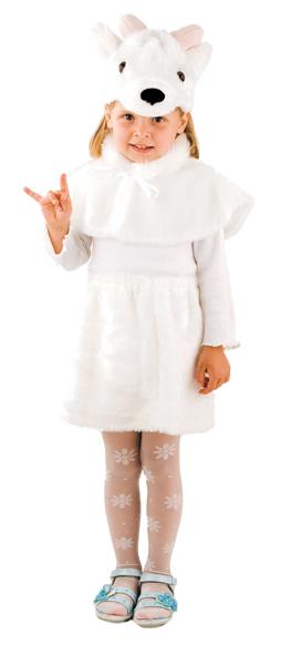 Новогодние костюмы козы для девочек своими руками фото