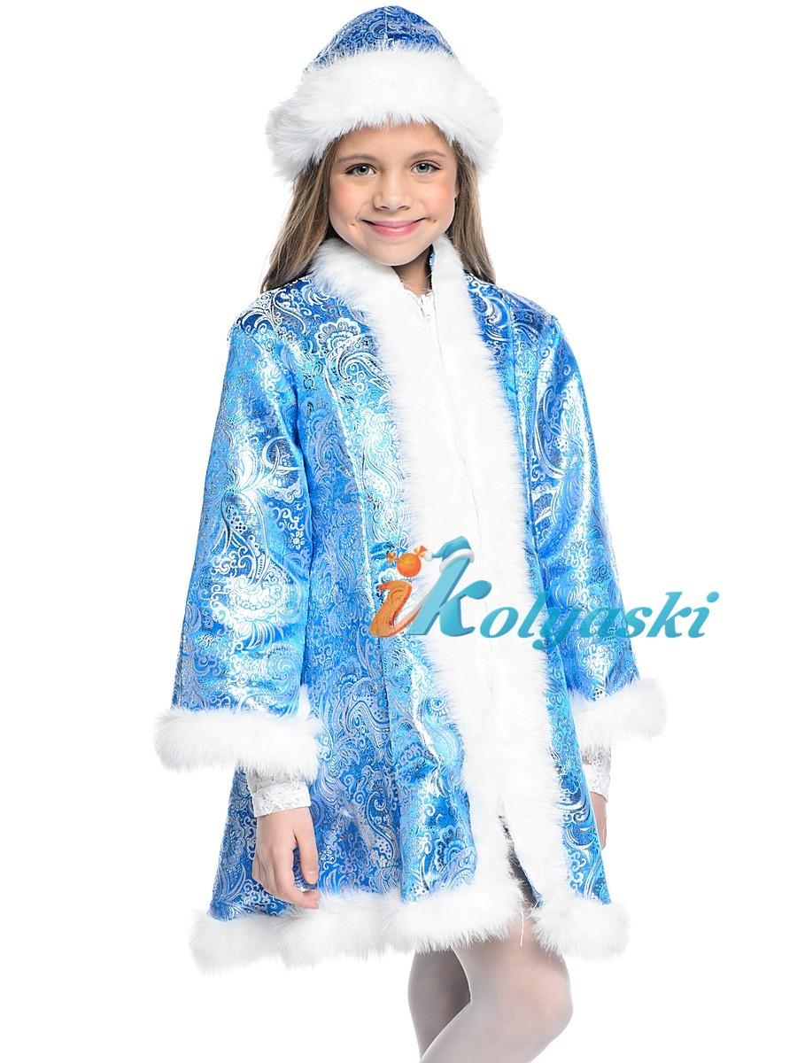 Новогодний карнавальный костюм Снегурочки 3af697580718b