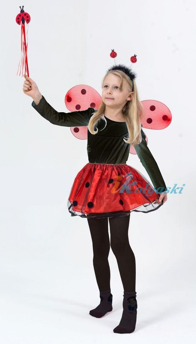 Карнавальные костюмы для девочек божья коровка