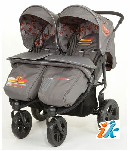 Купить прогулочную коляску для двойни спб