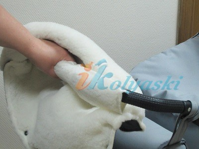 Выкройка муфточка для коляски