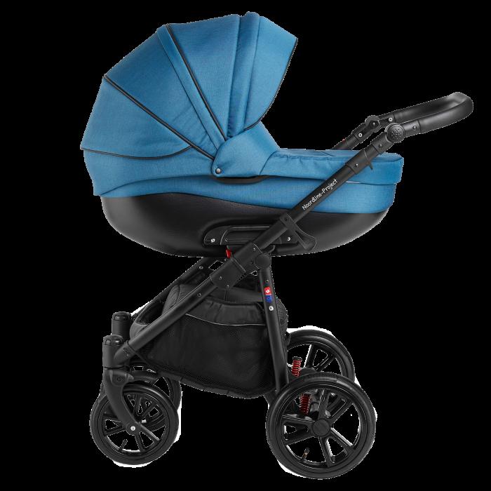 Noordline Olivia Sport 2 в 1 коляска для новорожденых цвет Aqua