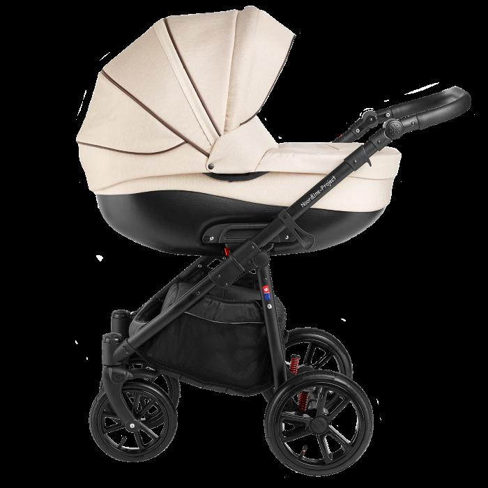 Noordline Olivia Sport 2 в 1 коляска для новорожденых цвет Biege