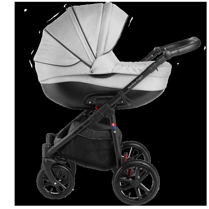 Noordline Olivia Sport 2 в 1 коляска для новорожденых цвет Grey