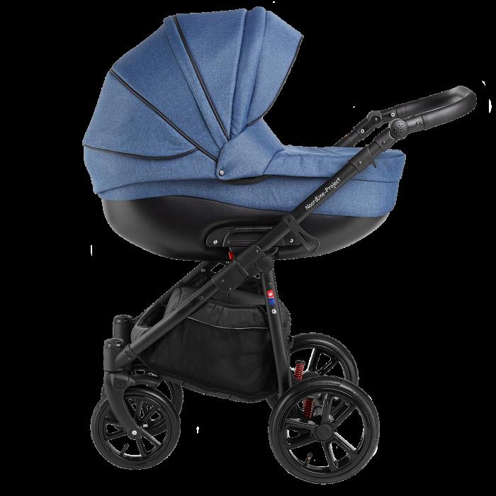 Noordline Olivia Sport 2 в 1 коляска для новорожденых цвет Jeans