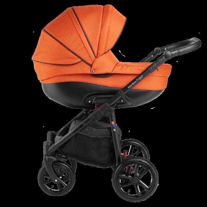 Noordline Olivia Sport 2 в 1 коляска для новорожденых цвет Orange