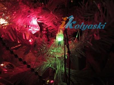 новогодняя елочная электрическая гирлянда Бриллиант,  артикул Е60020, Snowmen, новогодние гирлянды, елочные гирлянды, елочная гирлянда купить, елочные гирлянды купить, куплю елочную электрическую гирлянду, новогодние огоньки на елку