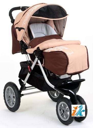 прогулочная коляска капелла трехколесная фото