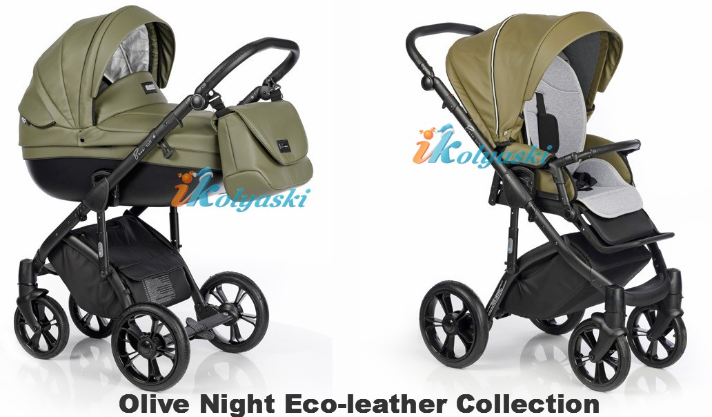 Roan Bass Soft LE Eco-Leather Collection цвет Olive Night
