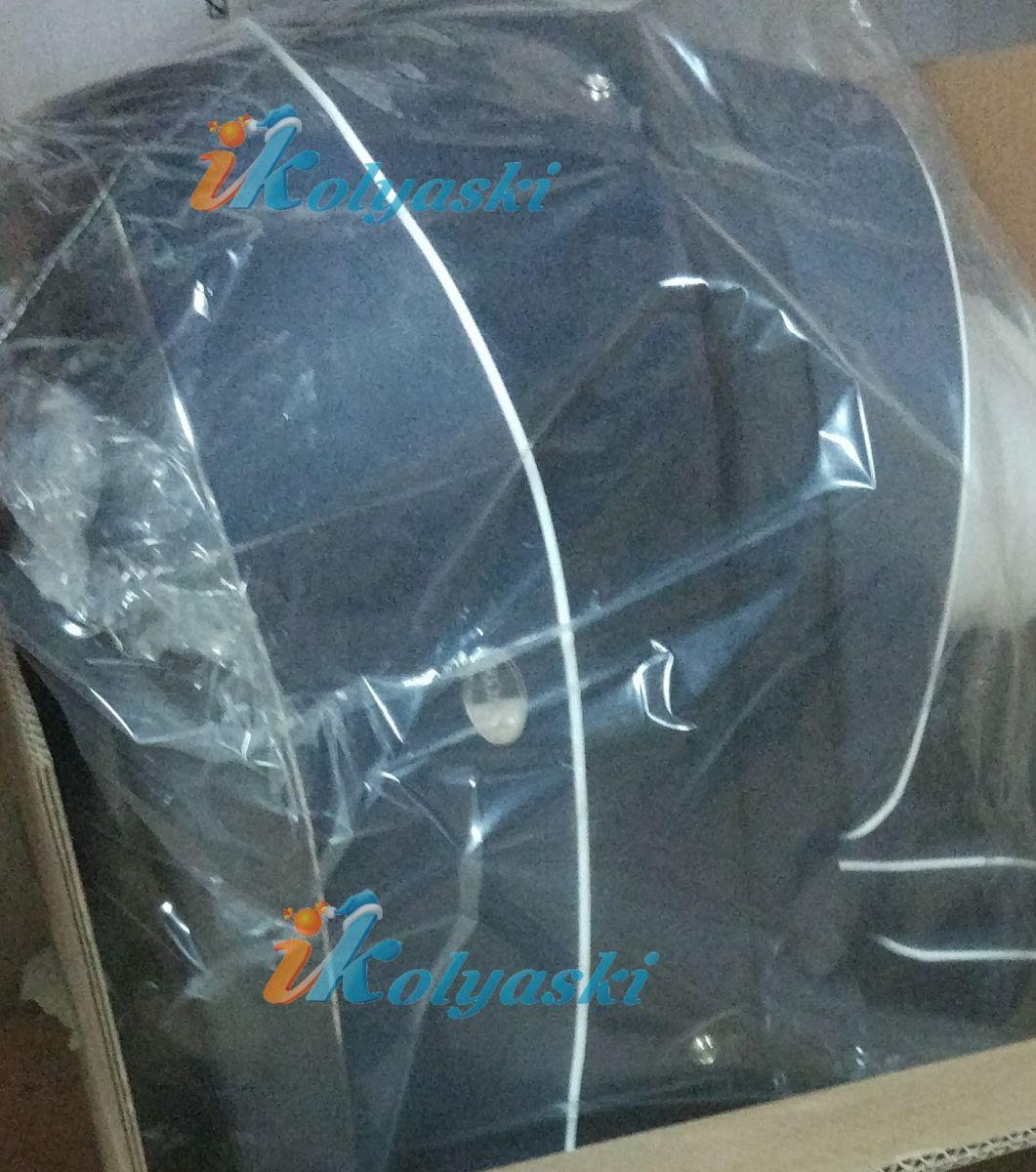 Roan Emma 199-SK темно-синяя экокожа и темно-синяя ткань