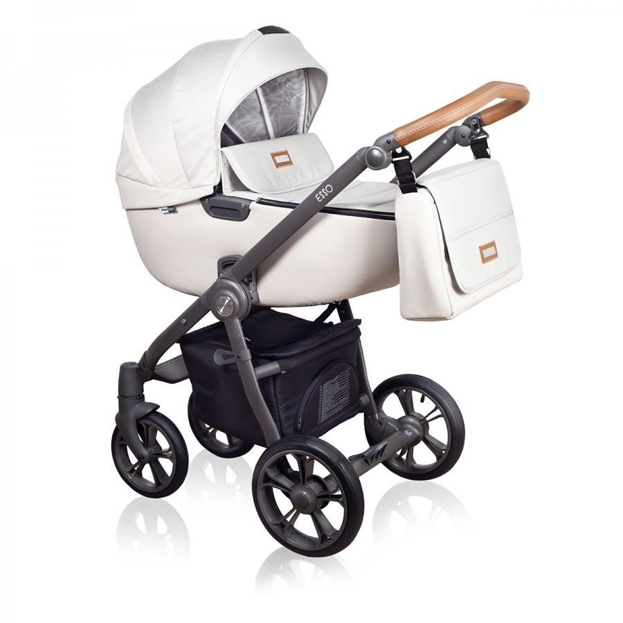 Roan Esso 2 в 1, Детская коляска для новорожденных, на поворотных колесах, 2 в 1 Roan Esso - Роан Эссо. Новинка 2018. Цвет D2