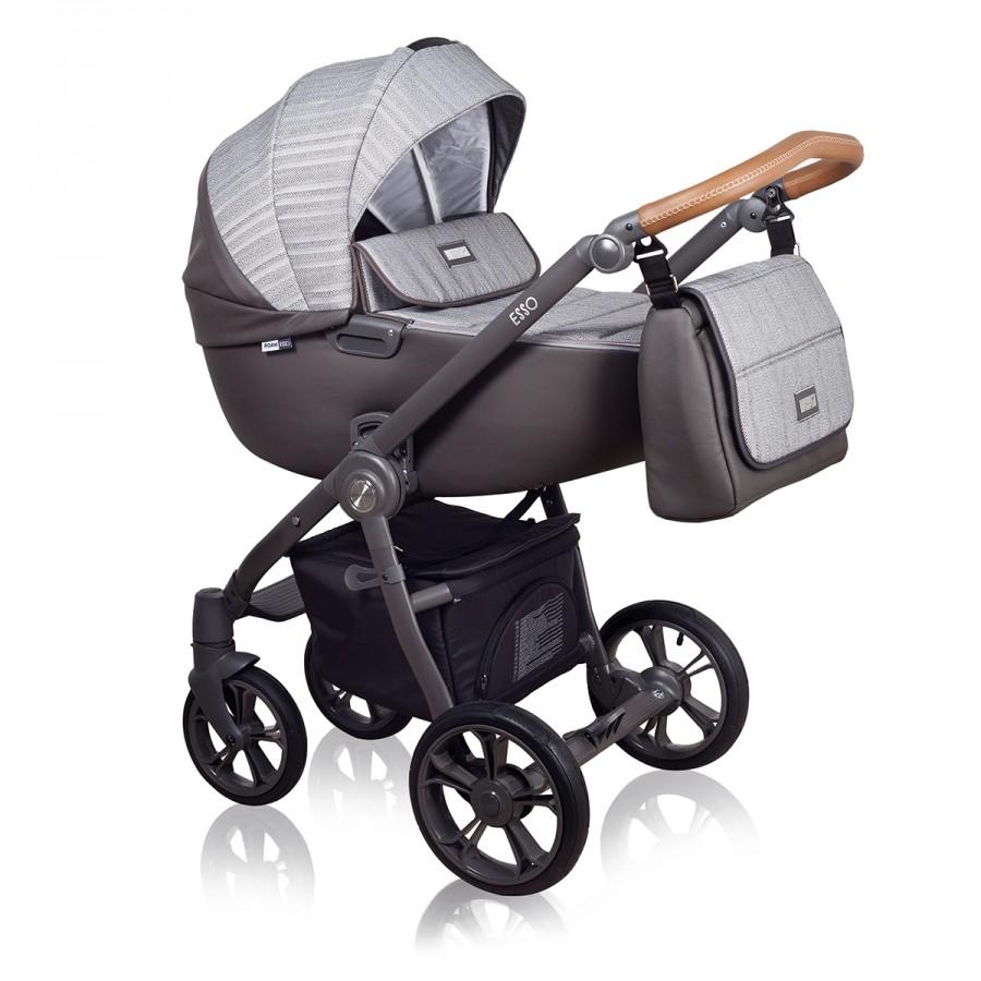 Roan Esso 2 в 1, Детская коляска для новорожденных, на поворотных колесах, 2 в 1 Roan Esso - Роан Эссо. Новинка 2018. Цвет D5