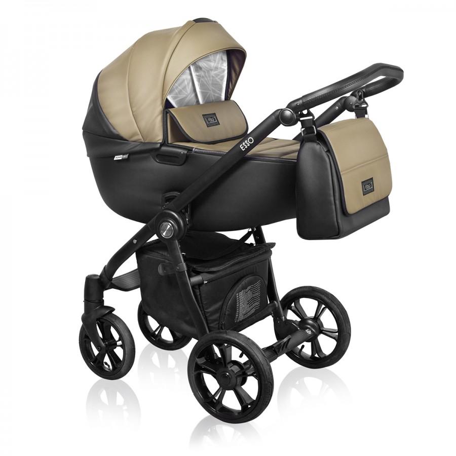 Roan Esso 2 в 1, Детская коляска для новорожденных, на поворотных колесах, 2 в 1 Roan Esso - Роан Эссо. Новинка 2018. Цвет D6