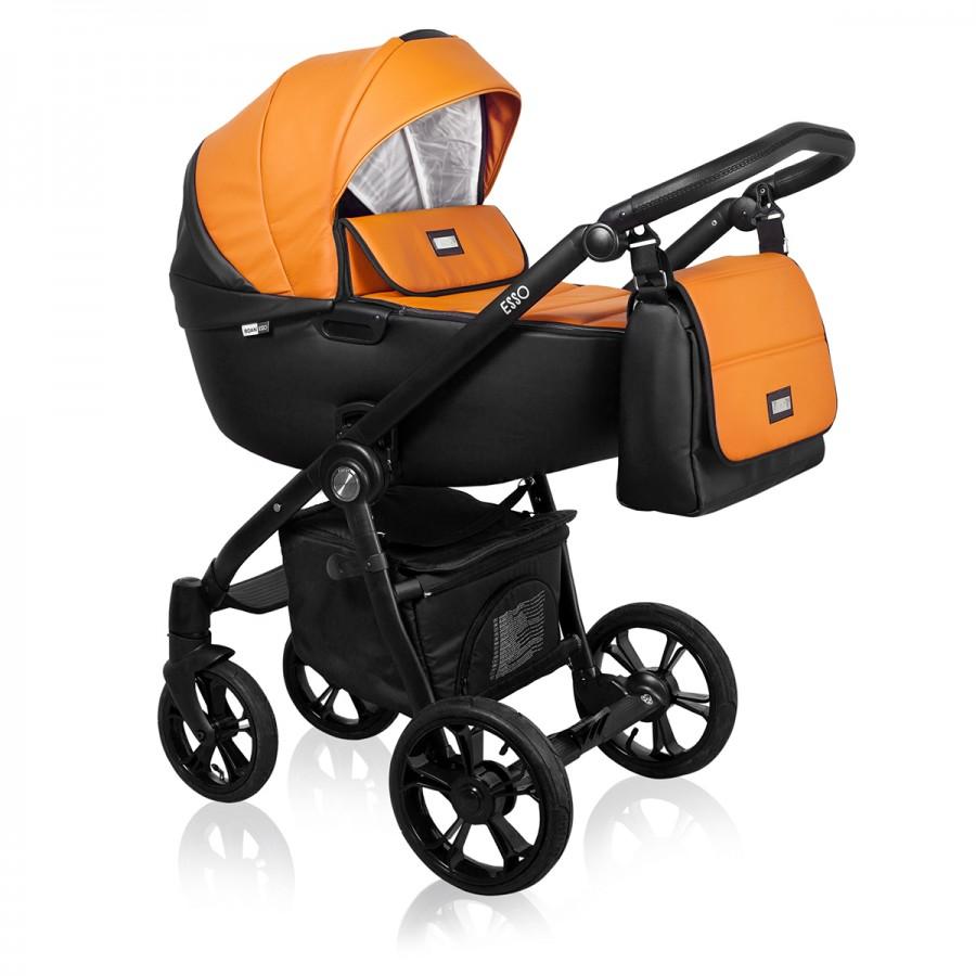 Roan Esso 2 в 1, Детская коляска для новорожденных, на поворотных колесах, 2 в 1 Roan Esso - Роан Эссо. Новинка 2018. Цвет D7