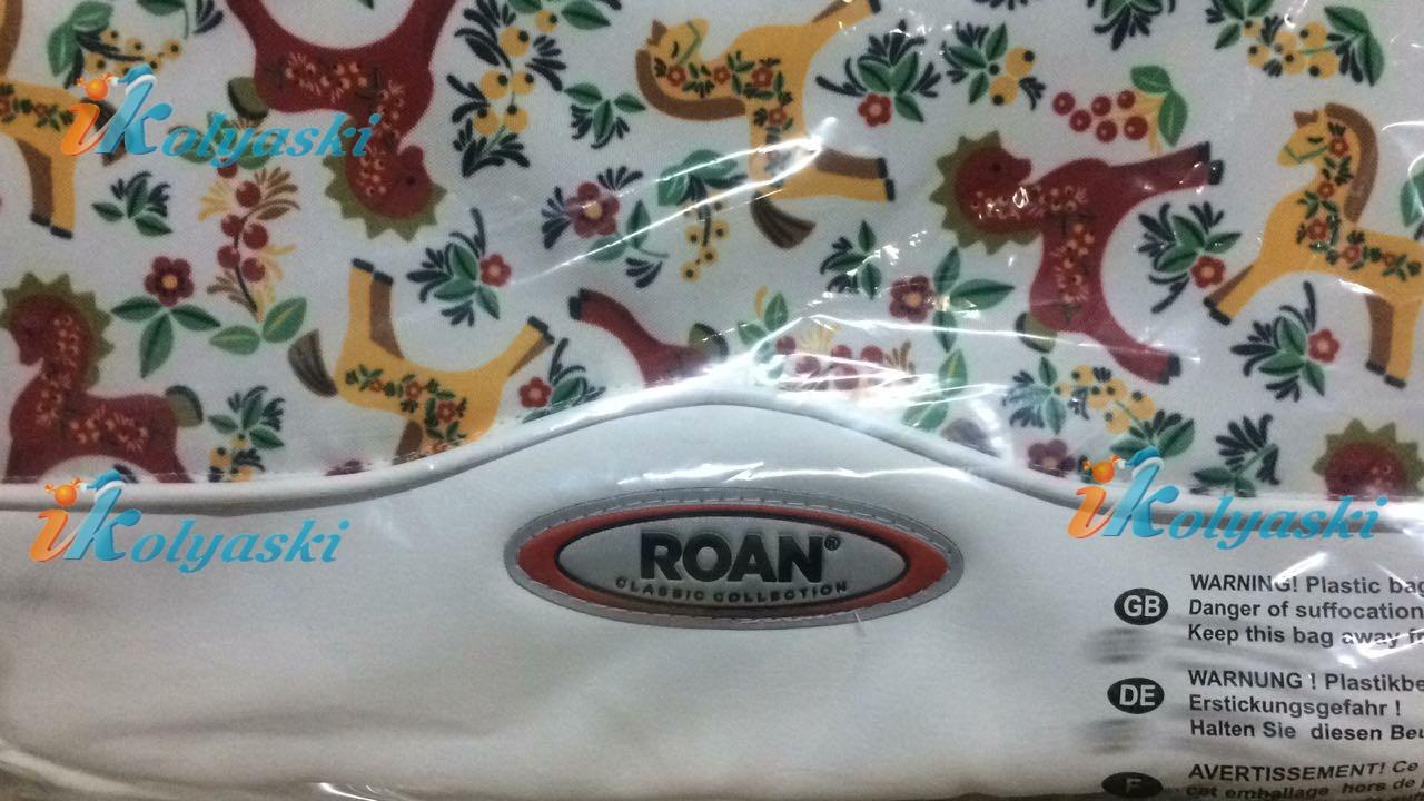 Детская коляска Roan Kortina 2 в 1 Lux Роан Кортина 2 в 1 люкс 2018 спальная люлька, коляска для новорожденных, цвет P-184