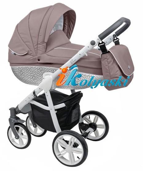 маркировка цвета детских колясок Роан Басс Софт  складывается из 3-х составляющих, где:  1. цвет пластика люльки,  2. цвет тканевой обшивки люльки,  3. цвет рамы
