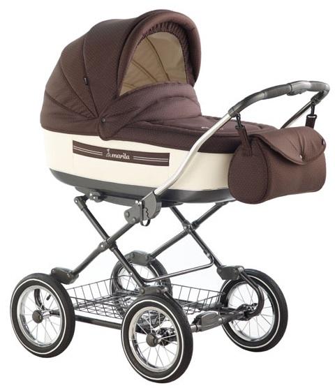 классическая детская коляска для новорожденных детей, от рождения до 3 лет, коляска 2 в 1, в комплекте с прогулочной, фирменная немецко-польская модель Roan Marita - Роан Марита