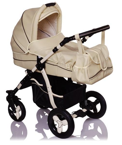 коляски Детская коляска для новорожденных Lonex Speedy ECCO, 2 в 1, коляска зима-лето