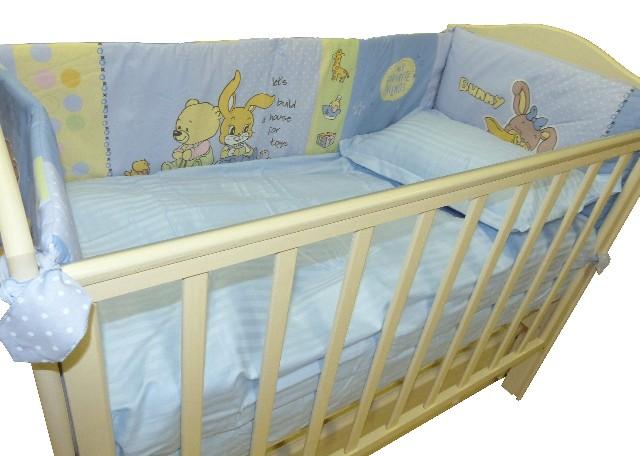 Комплект постельного белья для детской кровати, размером 140х90