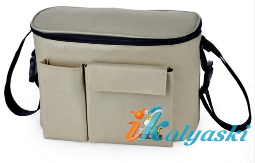 Термо-сумка для детской коляски, сумка-холодильник, cooler bag, thermo bag, фирма Ecobaby, термо сумка для коляски, сумка для коляски купить, сумка холодильник для детской коляски, термо сумка для детской коляски, сумка на ручку детской коляски
